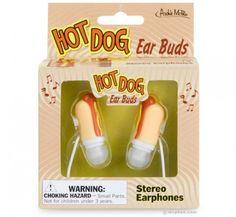 Hot dog ear buds!!