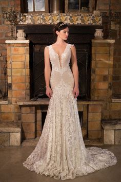 Mother and daughter design team, Anat and Naama, have made their mark in the intricate and creative world of wedding dress design. Their studio was established in 1997 and they are trained in the most sophisticated techniques to create flattering silhouet