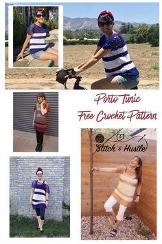 Porto Cotton Tunic - Free Crochet Pattern — Stitch & Hustle