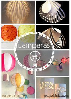 Haz tu Lámpara de Papel por menos de 1 € | Papelisimo