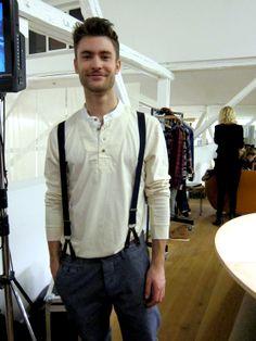 Cottonfields kampagnemodel Nikolai Rantzau fra Unique Models.