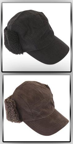 8d3b49f7d08fe Mens Plain Peaked Thermal Trapper Hat Mens Winter Hat Styles, Winter Hats  For Men,