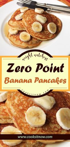 Zero Point Banana Pancakes, Light and fluffy, these pancakes are great on their . Zero Point Banana Pancakes, Light and fluffy, . Weight Watchers Desserts, Pancakes Weight Watchers, Plats Weight Watchers, Weight Watchers Breakfast, Weight Watchers Diet, Weight Watchers Bread Recipe, Weight Watchers Recipes With Smartpoints, Weight Watchers Points, Fast Food Breakfast