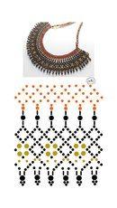Дыхание Бисера's photos Diy Necklace Patterns, Beaded Jewelry Patterns, Jewelry Crafts, Handmade Jewelry, Bead Loom Bracelets, Necklace Tutorial, Seed Bead Jewelry, Beautiful Necklaces, Jewelry Making