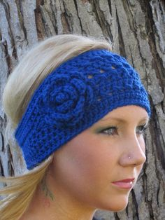 Crochet Head Wrap - cute!