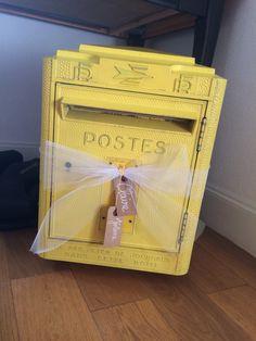 Urne boîte aux lettres