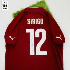 Anche la Nazionale Italiana di Calcio è dalla parte dell'Amazzonia. Partecipa all'asta Charitystars WWF Italia per aggiudicarti la maglia di Sirigu http://www.charitystars.com/product/maglia-sirigu-italia-ufficiale-authentic-autografata-brasile-2014-celebriamolamaglia-vivoazzurro #iotifoamazzonia
