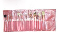 FOONEE Professional 21 Piece Cosmetic Brush Set with Pouch PinkSet of 20 Brushes and 1 Pouch *** You can find out more details at the link of the image.