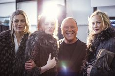 Michael Kors fall 2014 - behind the scenes