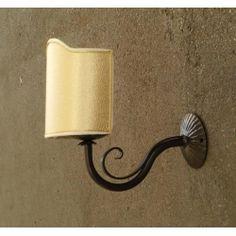 WROUGHT IRON WALL LAMP design . 181