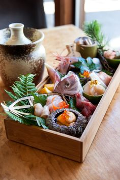 Sushi Ran in Sausalito. Both the salmon skin and the live Dungeness crab maki are must orders, along with the sashimi and their incredible scallop-chive dumplings.