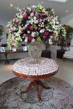 cor das flores! cor do bem casado!