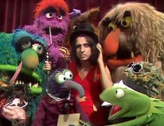 The Muppets and Alice Cooper