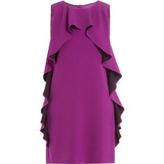 Boutique Moschino Ruffled Crepe Dress