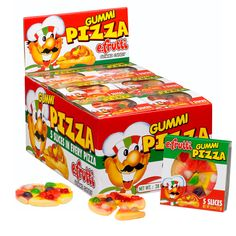 Gummi Pizza!!