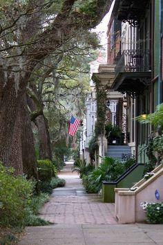 Savannah, Georgia.  #travel