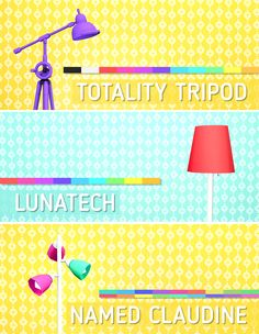 Floor Lamp Set for TS4 ♥• Totality Tripod: 11 colors • Lunatech: 9 colors • Named Claudine: 9 colors • Separate files • Design tool compatible • Base game compatible TOU: please don't re-upload or...