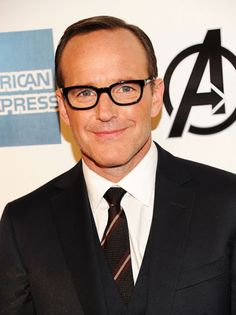 Clark Gregg, I like interesting men who don't get everything handed to them , because of their looks.