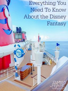 Everything that you need to know about cruising on the Disney Cruise Line's Disney Fantasy, including restaurants, family activities, shows, ports, and more.