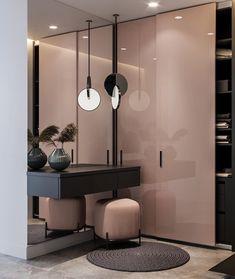 Wardrobe Door Designs, Wardrobe Design Bedroom, Luxury Bedroom Design, Bedroom Furniture Design, Home Room Design, Luxury Interior Design, Hallway Furniture, Design Homes, Design Hall