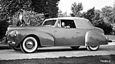 On December 13, 1939, the first production Lincoln Continental came off the line.