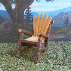 Mini Forest Chair – Enchanted Gardens