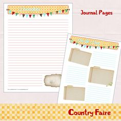 Country Faire Monthly & Daily Planner by myunclutteredlife