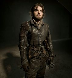 Tom Burke who plays Athos on The Musketeers.
