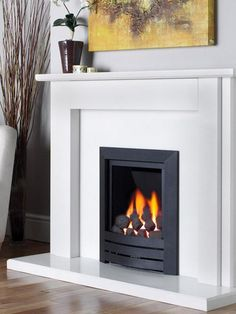 Black Magic, Gas Fire, with Coal Bed Effect