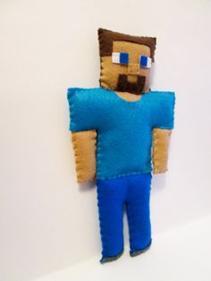 Steve Plush Inspired by Minecraft unofficial by FabroCreations