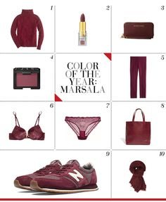 Mizhattan - Sensible living with style: *FRIDAY FRUGAL FINDS* Color of the Year: Marsala