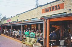 Taverna  Location: Armstrong at Travis Perfect for: date night or Sunday brunch