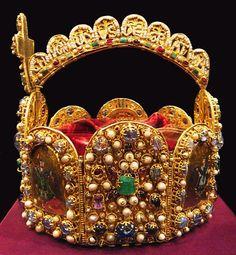 Imperial Crown of the Holy Roman Empire. Schatzkammer. Vienna, Austria