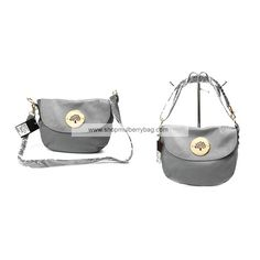 Mulberry Women's Small Daria Leather Satchel Bags Gray