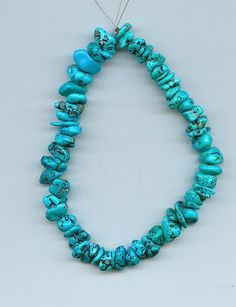 Real Mexican Turquoise Nugget Loose Beads