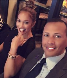 JLo & ARod at World Series Game 10-29-17
