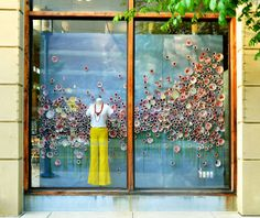 Shop Window Display | Window Displays: Anthropologie | The Bell Jar