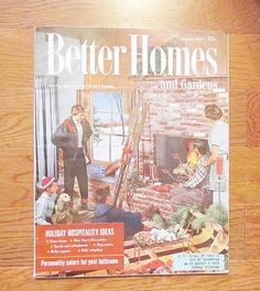 Jan 1957 Better Homes & Gardens Magazine Mid Century Eames Era Hospitality Issue