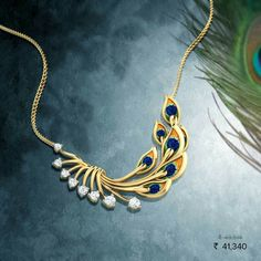 Peacock collection at Caratlane. Gold Mangalsutra Designs, Gold Jewellery Design, Pendant Jewelry, Jewelry Necklaces, Peacock Jewelry, Peacock Ring, Gold Jewelry Simple, India Jewelry, Schmuck Design