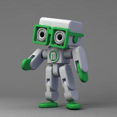 Mikey - makerbot grabcad challenge award finalist by LeoSlawik.