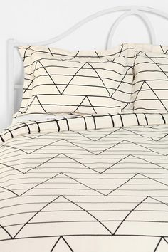 Assembly Home Between The Lines Sham - Set Of 2  #UrbanOutfitters