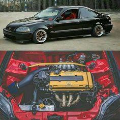 Vtec and cold air intake. Voiture Honda Civic, Honda Civic Coupe, Honda Civic Hatchback, 1999 Honda Civic, Honda S, Datsun 210, Vtec Engine, Civic Ex, Vw Passat