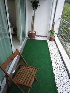 balcony into a mini garden