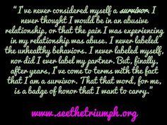 Naming Emotional Abuse #seethetriumph