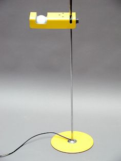 "Joe Colombo, ""Spider""   standing lamp for  O-Luce, 1965."