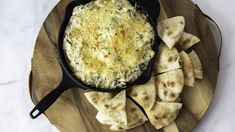 Kraut Spinach Dip Low Carb Appetizers, Appetizer Dips, Appetizer Recipes, Dip Recipes, Snack Recipes, Cooking Recipes, Yummy Recipes, Creamed Spinach