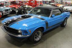 "1970 Ford Mustang Boss 351 convertible ""phantom car"""