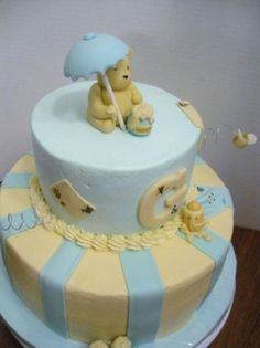Other Baking Accessories Generous Winnie The Pooh Baby Shower Edible Cake Or Cupcake Toppers Decoration To Ensure Smooth Transmission