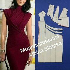 New Diy Fashion Easy Dress Tutorials Ideas Easy Sewing Patterns, Clothing Patterns, Dress Patterns, Fashion Sewing, Diy Fashion, Ideias Fashion, Dress Fashion, Fashion Ideas, Fashion Outfits
