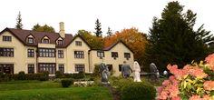 seven hills inn, lenox (berkshires).  weekend weddings, 44 guest rooms.